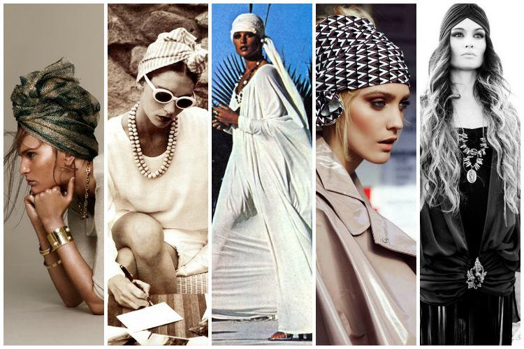 Inspiration of the Week: Head Scarves
