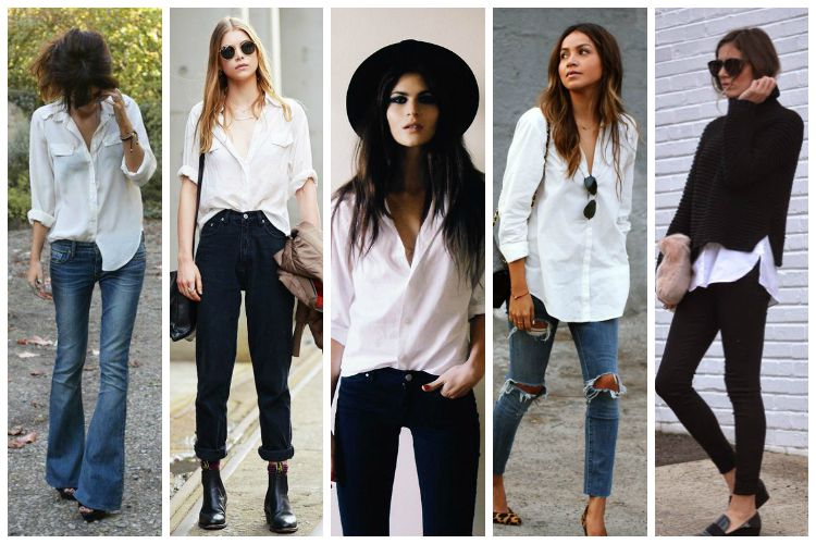 Inspiration of the Week: White Button Down