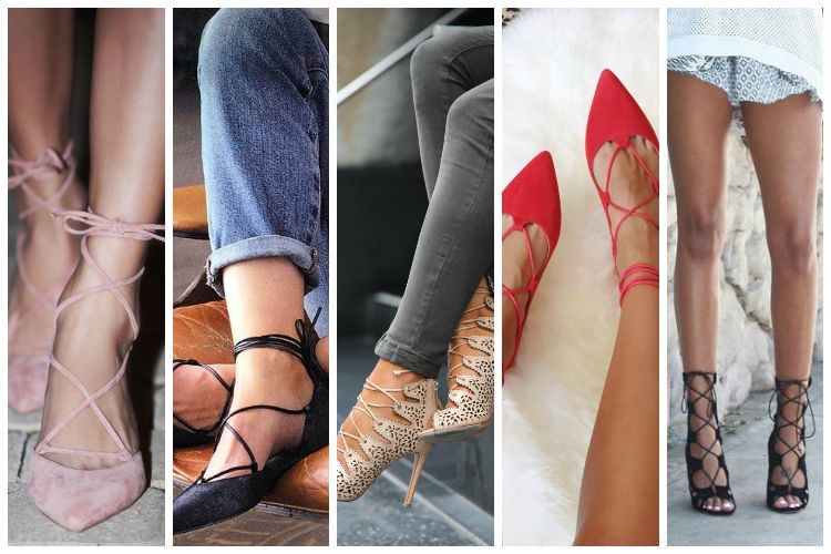 Inspiration of the Week: Lace Up Shoes