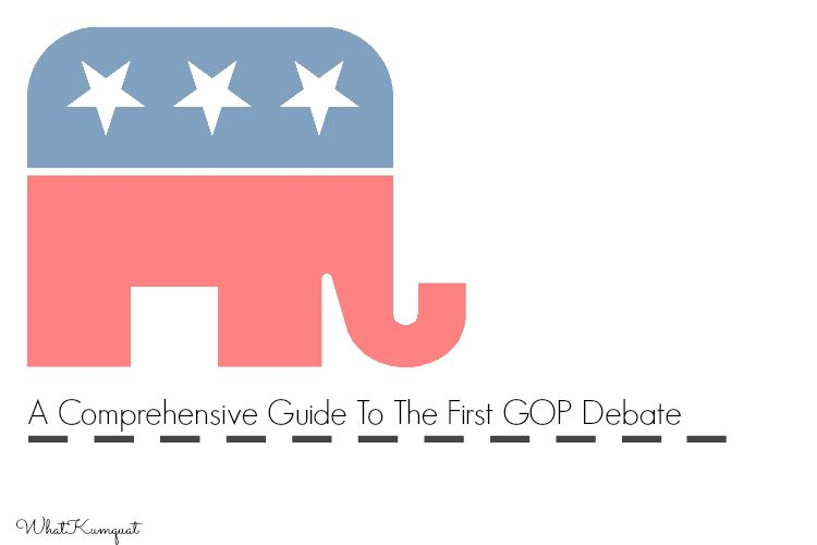 A Comprehensive Guide to the First GOP Debate
