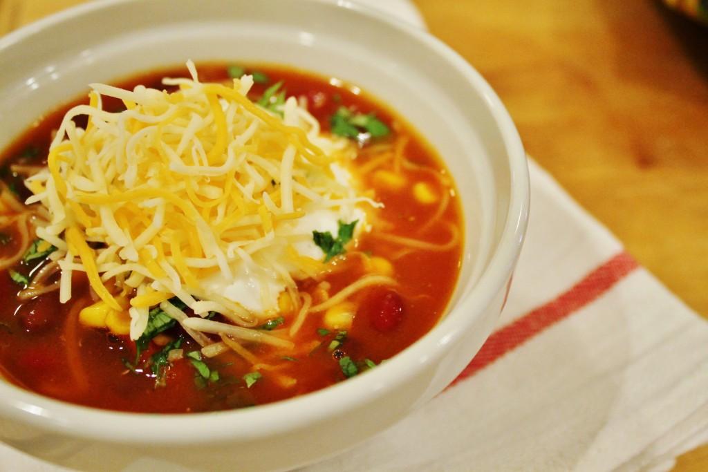 mexican bean soup | www.whatkumquat.com