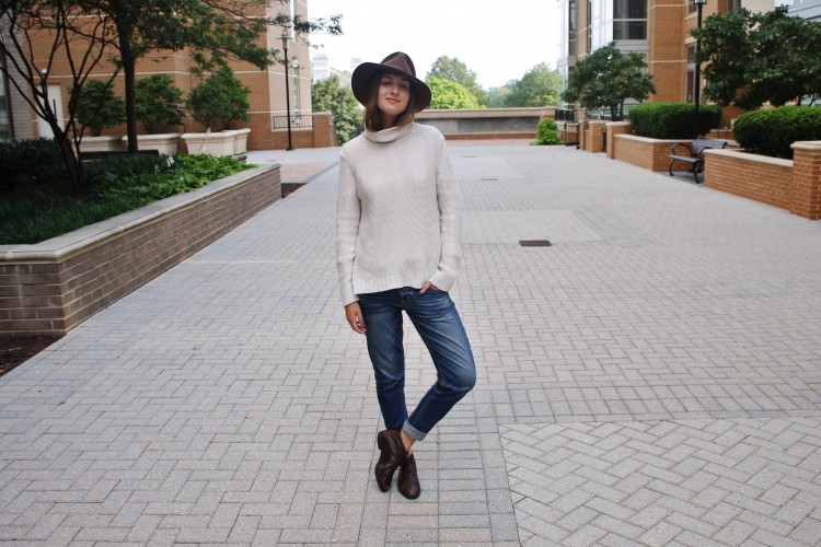 Look of the Week: Fedora Chic