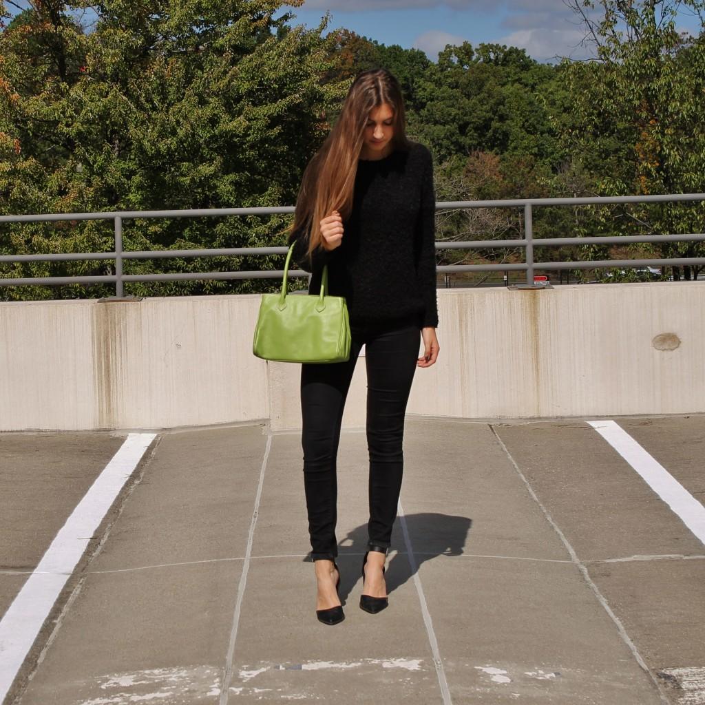 all black fashion |www.whatkumquat.com
