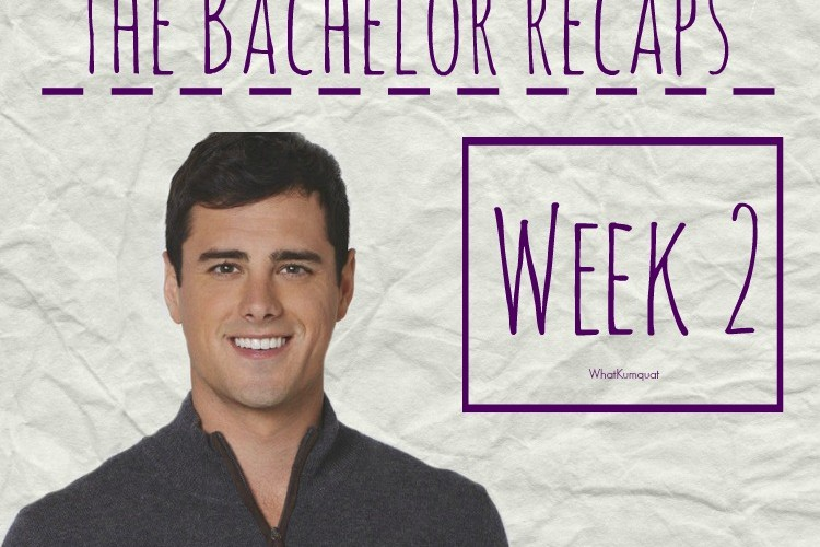 Bachelor Ben Recap: Week 2