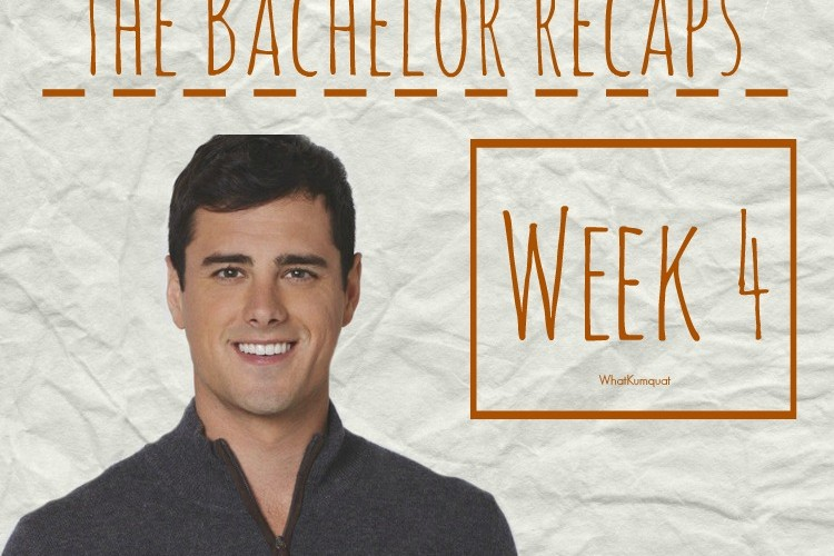 Bachelor Ben Recap: Week 4