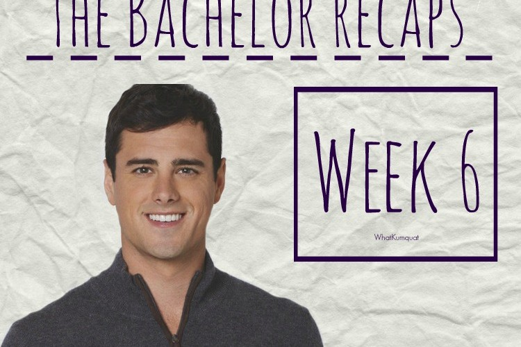 Bachelor Ben Recap: Week 6