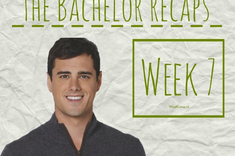 Bachelor Ben Recap: Week 7