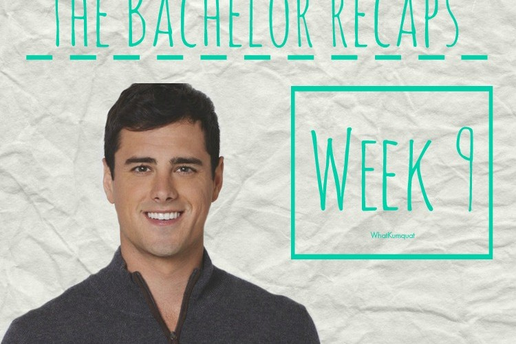 Bachelor Ben Recap: Week 9