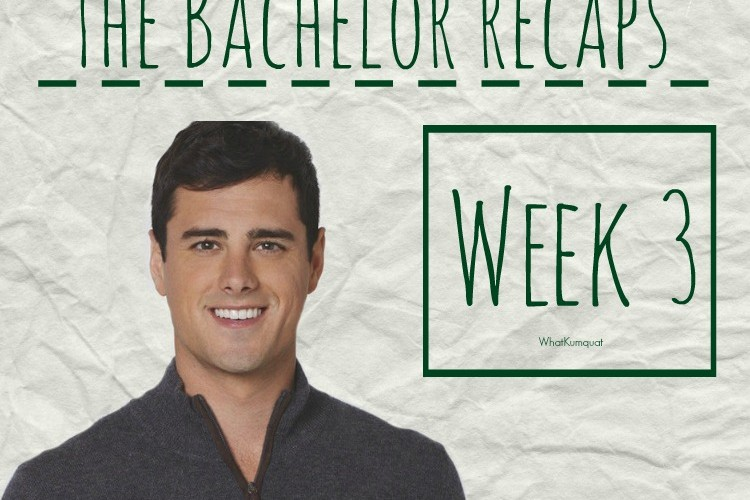 Bachelor Ben Recap: Week 3