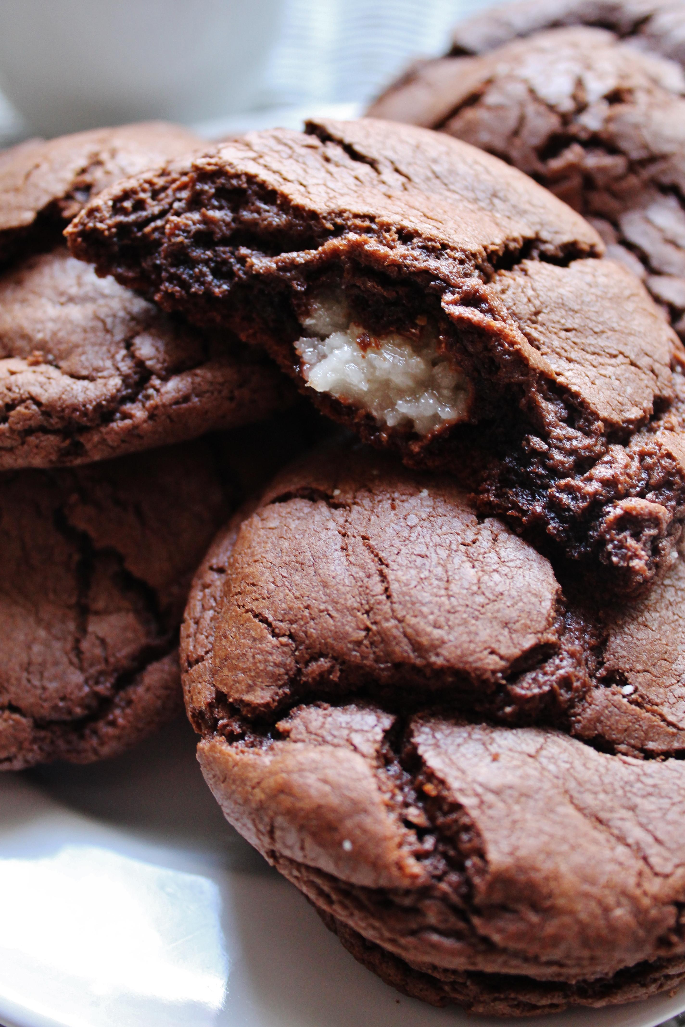 Almond Joy Chocolate Cake Cookies Whatkumquat