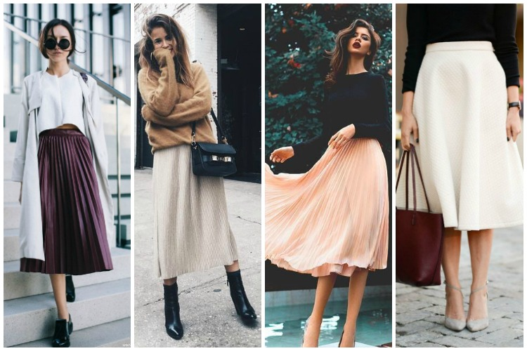 Inspiration of the Week: Midi Skirts