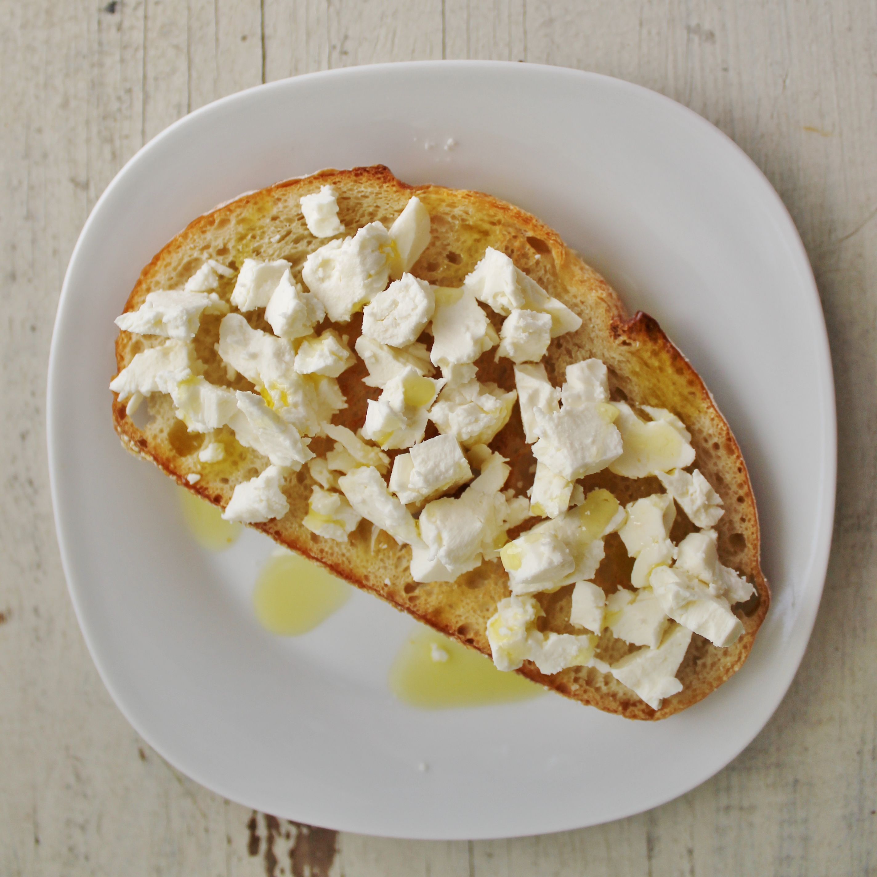 feta & olive oil toast |www.whatkumquat.com