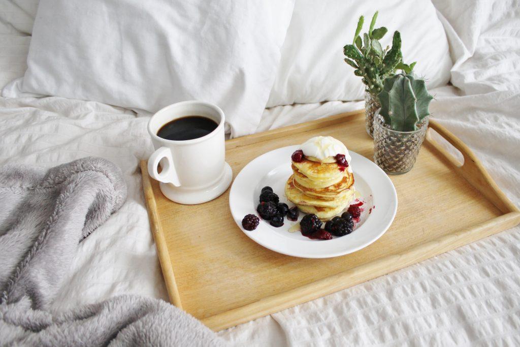 sour cream silver dollar pancakes |www.whatkumquat.com