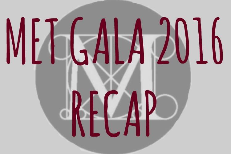 Met Gala 2016: Mirrors, Metallics & Minis, Oh My