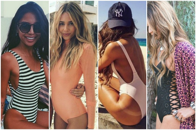 Inspiration of the Week: One Piece Swimsuits