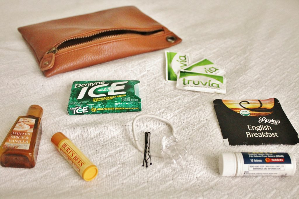 What's in my travel bag?  www.whatkumquat.com