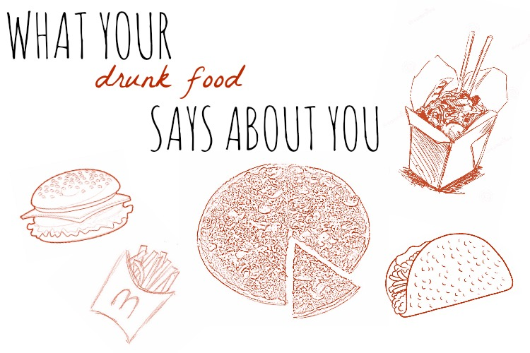 What Your Drunk Food Says About You