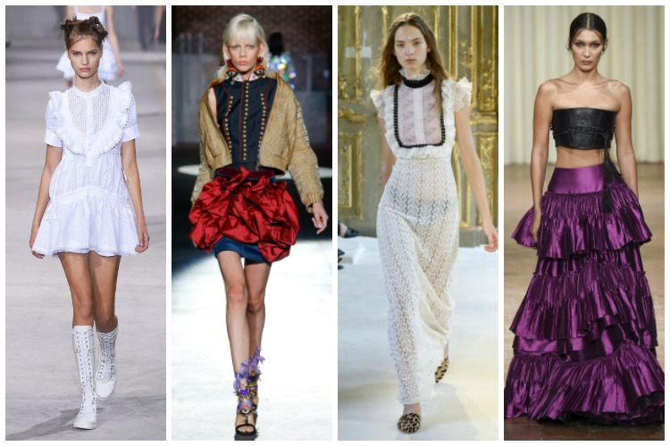 Milan Fashion Week ss2017 Trend Report: Ruffles [www.whatkumquat.com]