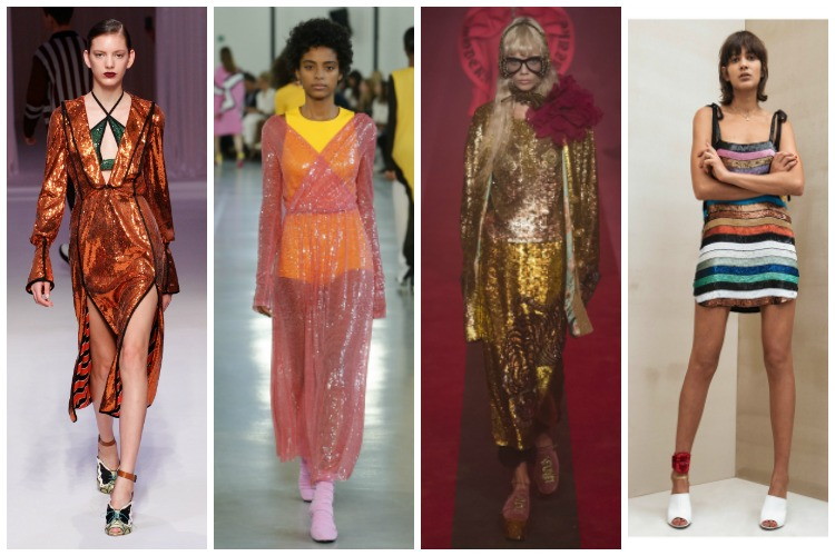 Milan Fashion Week ss2017 Trend Report: Sequins [www.whatkumquat.com]