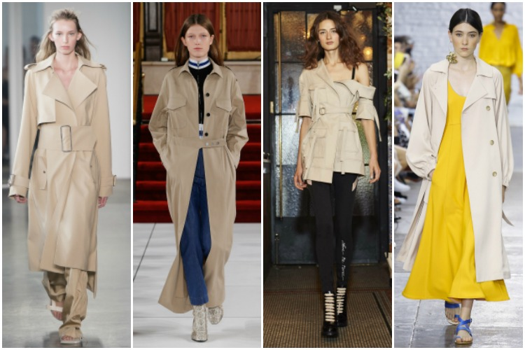 NYFW ss 2017 trend: trench coat |www.whatkumquat.com