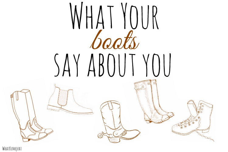 What Your Boots Say About You