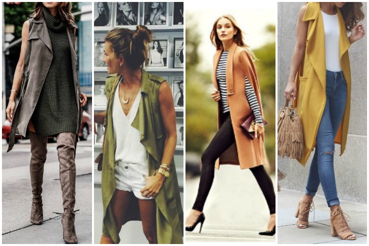 Inspiration of the Week: Sleeveless Jackets
