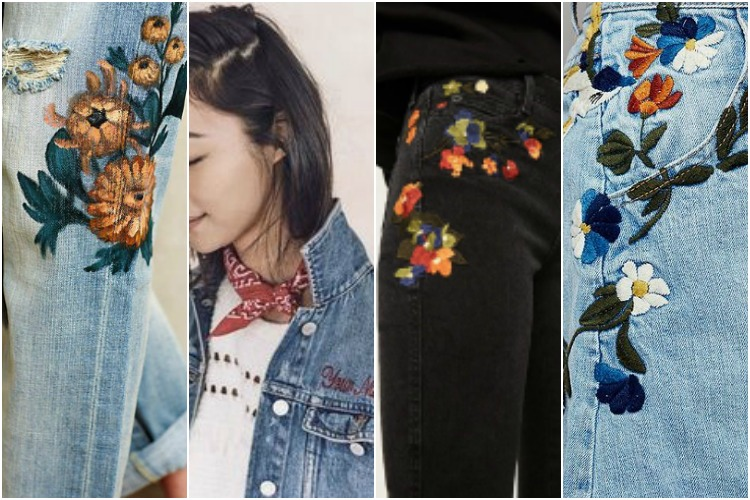 Style Inspo: Embroidered Denim