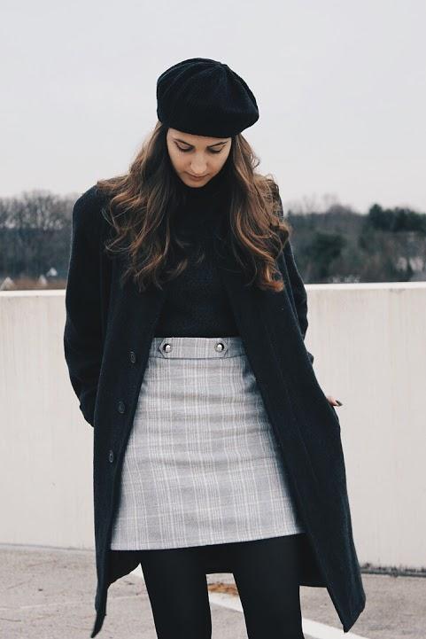 french style: styling berets [www.whatkumquat.com]
