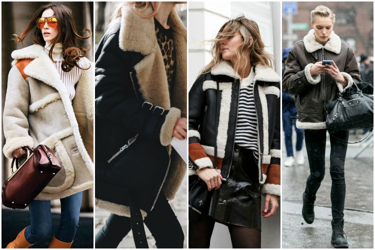Inspiration of the Week: Shearling Jackets