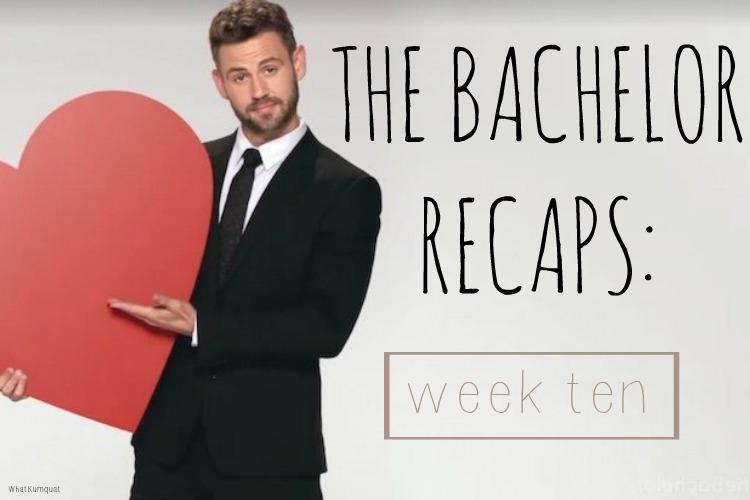 Bachelor Nick Recap: Finale-y