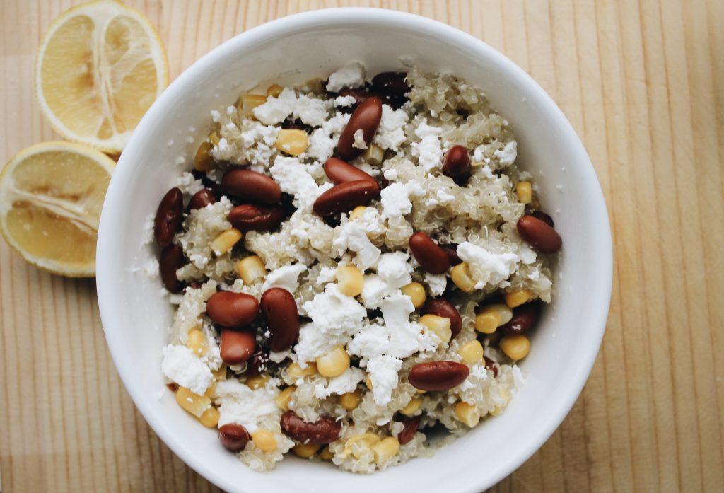 A Refreshing Lemony Quinoa Recipe That Doesn't Suck [www.whatkumquat.com]