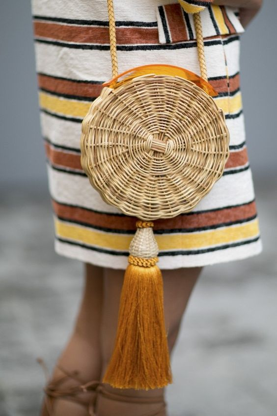 Style Inspo + Shop The Trend: Straw Accessories [www.whatkumquat.com]