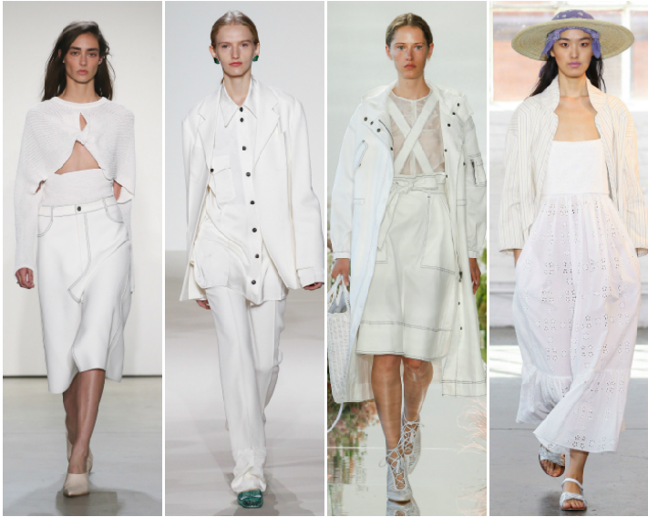 NYFW SS18 Trend Report: Head to Toe White