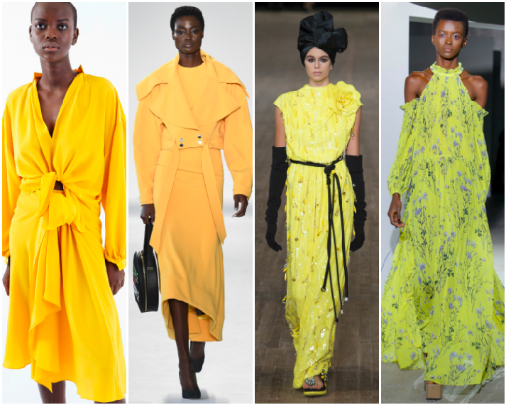 NYFW SS18 Trend Report: Yellow