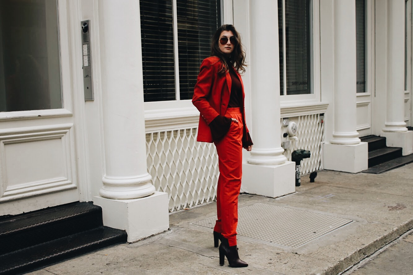Red Suit | WhatKumquat.com