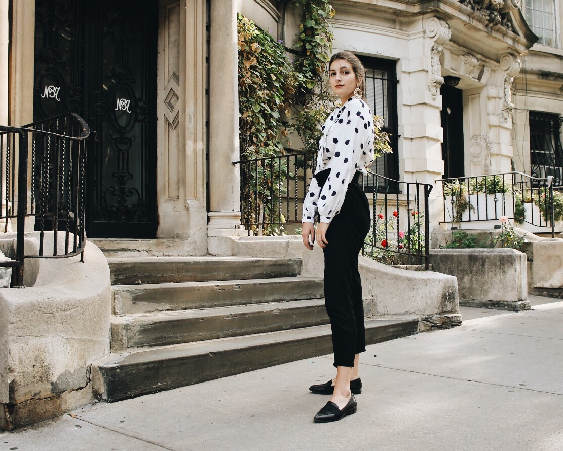 Styling Polka Dots in a Non-Cliche Way | WhatKumquat