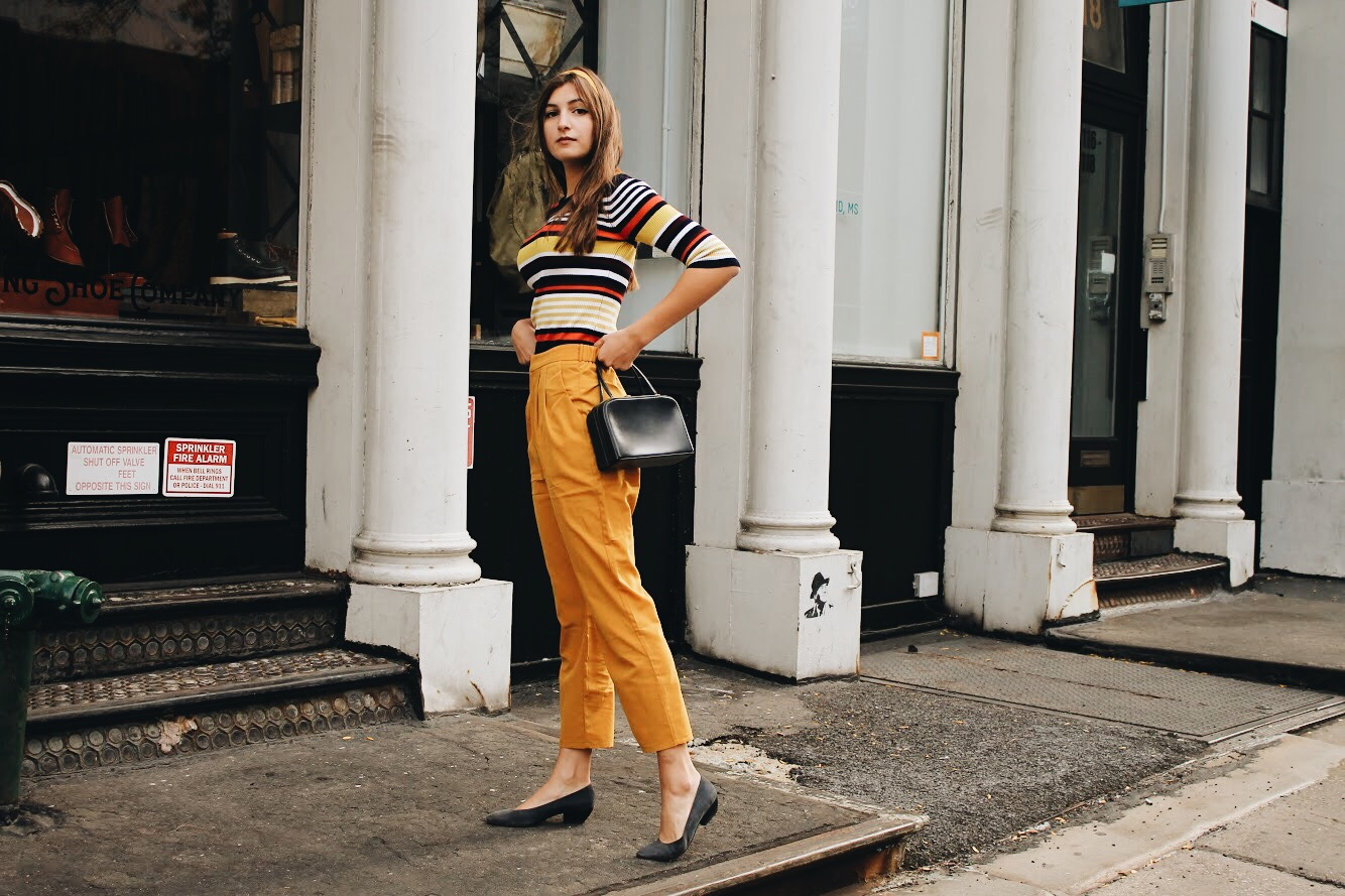 Colorful 1970s-Inspired Fashion | WhatKumquat
